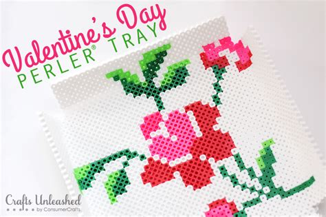 perler days activity perler s day flower tray tutorial