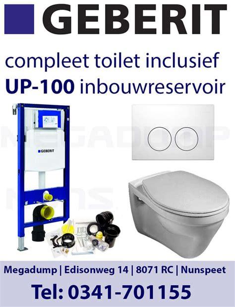 Inbouwreservoir Wc Compleet by Vlakspoel Toilet Met Geberit Inbouwreservoir Complete Set
