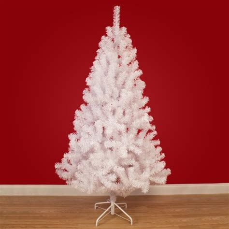 7ft white tree snow white artificial tree with metal stand