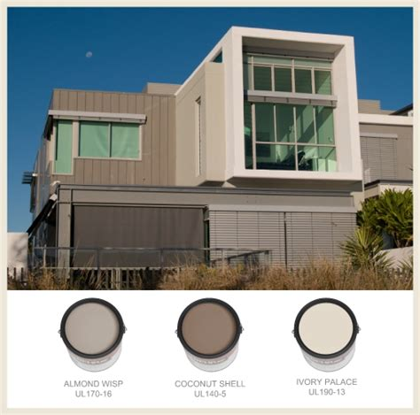 behr paint color almond wisp colorfully behr color for modern exteriors