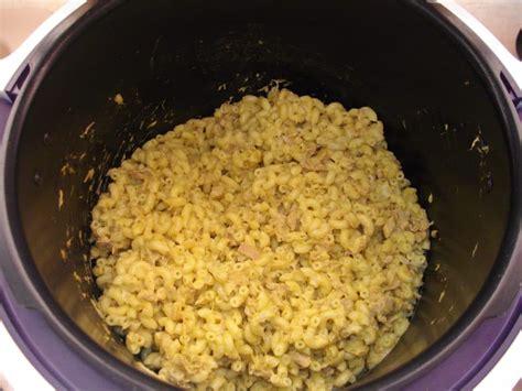 pates au thon cr 232 me et curry recettes cook 233 o