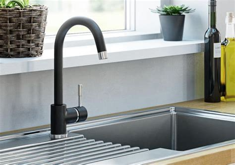 b q kitchen sink mixer taps kitchen taps pillar mixer taps diy at b q