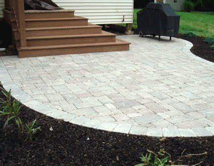 cost of patio pavers paver cost landscaping network