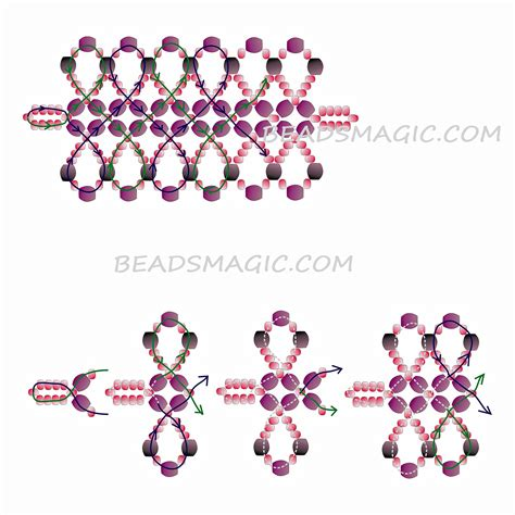 free beaded bracelet patterns 1000 images about seed bead patterns for necklaces on