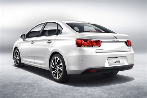 C4 Citroen by Citro 235 N Launches New C4 Sedan In China Carscoops