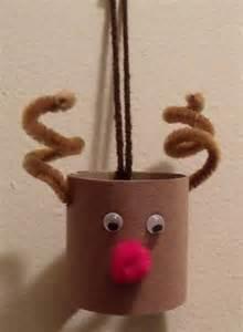reindeer paper crafts toilet paper roll reindeer craft of toria