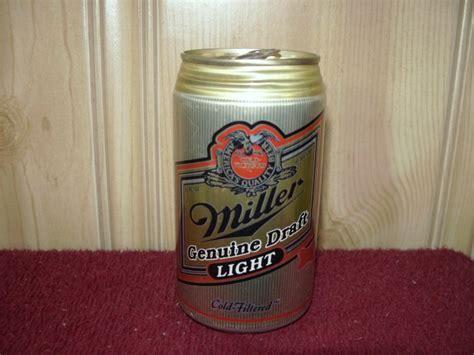 miller lights milwaukee miller genuine draft light can miller brewing co