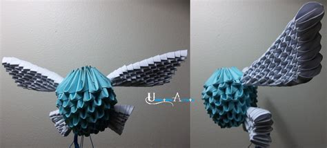 origami legend 3d origami navi by jobe3do on deviantart