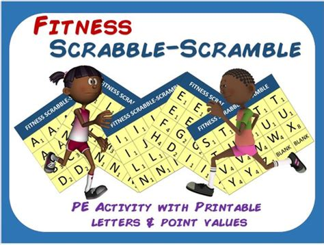pe scrabble word scrabble letter tiles printable by tracymcc uk teaching