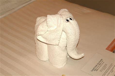 origami towel folding facts around us animal towel sculptures towel folding