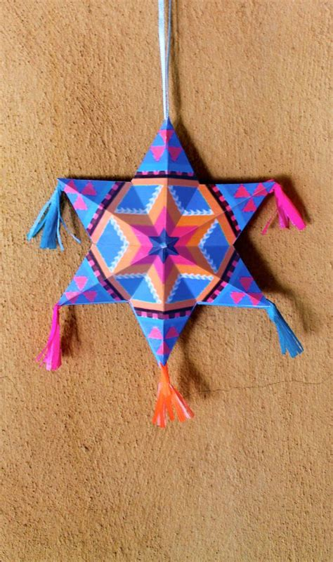 mexican craft make your own mexican paper ornaments diy tutorial