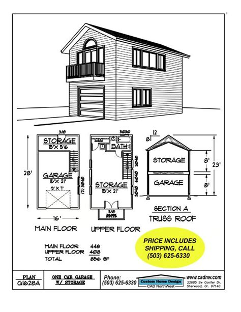 2 story floor plans with garage 2 story single garage plan house garage garage plans and simple