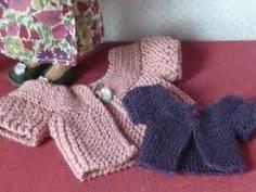 dolls cardigan knitting pattern gingermelon dolls free pattern diy