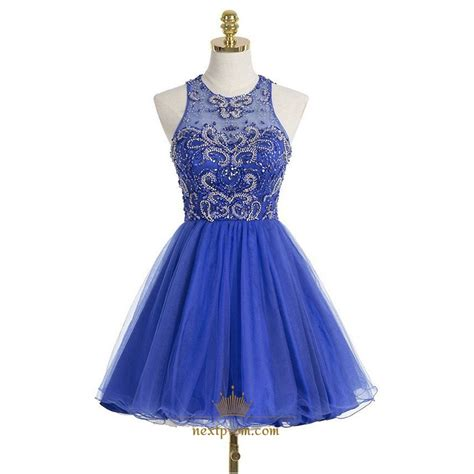 royal blue beaded dress royal blue sleeveless beaded bodice a line knee length