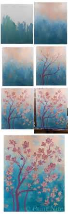 acrylic painting how to step by step step by step canvas painting pictures to pin on