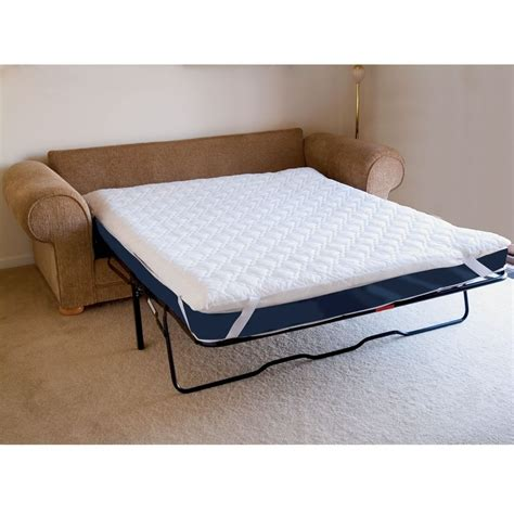 sofa bed mattress pad mattress pad for sleeper sofa collection in sofa bed