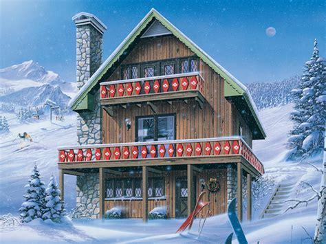 ski chalet house plans inglewood ski chalet home plan 008d 0150 house plans and