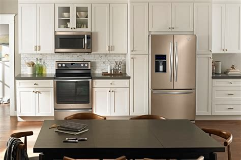 copper colored appliances whirlpool revisits the bronze age with new color option