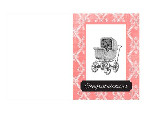 make a greeting card free printable antique images free printable baby card vintage baby