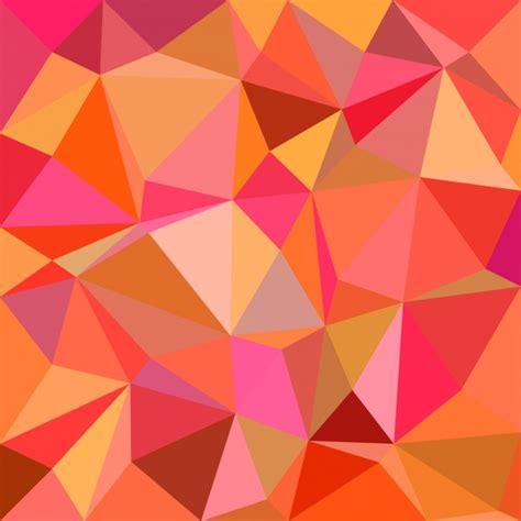 mosaic background orange mosaic background vector free