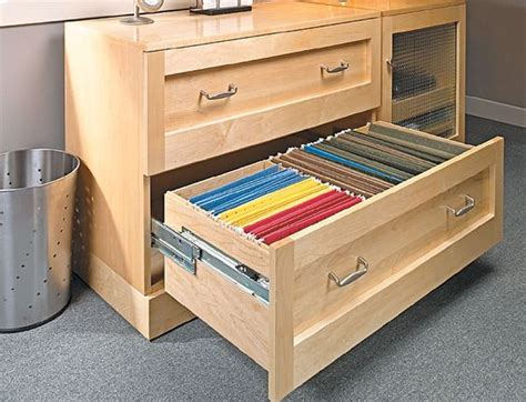 woodworking file lateral file cabinet woodworking plan wood projects