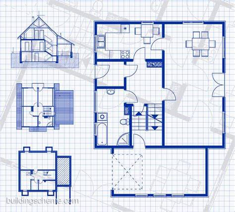blueprint for houses blueprint of building plans homes floor plans