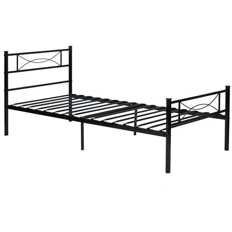 metal bed frame and headboard platform metal bed frame foundation headboard furniture