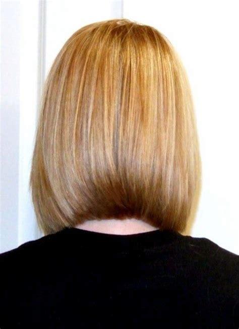 pictures of the back of shoulder lenth hair blunt shoulder length bob back view haircut ideas