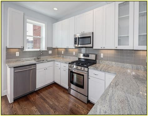 white cabinet kitchens with granite countertops white kitchen cabinets with gray granite countertops
