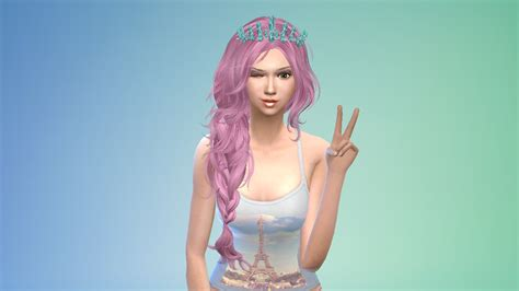 custom contant hair in the sims 4 sims 4 custom content