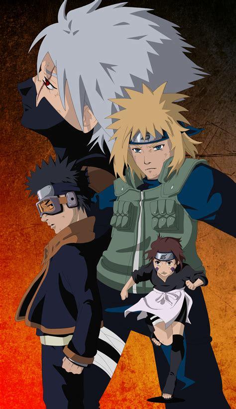 kakashi gaiden team yondaime images kakashi gaiden hd wallpaper and