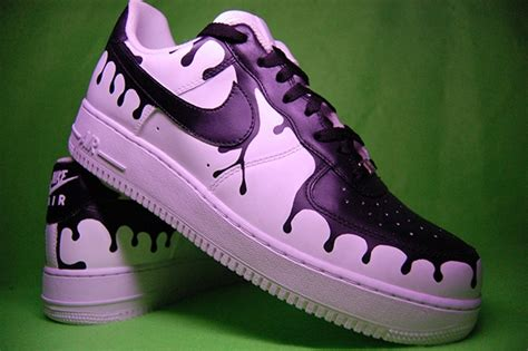 angelus paint for canvas shoes nike af1 quot drips quot on behance