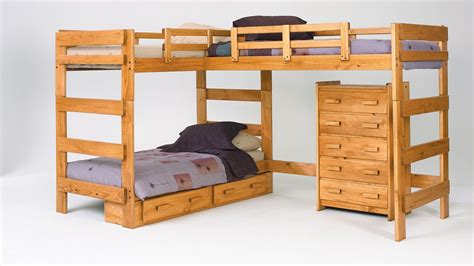 modern bunk beds modern wooden bunk beds nature style room ideas