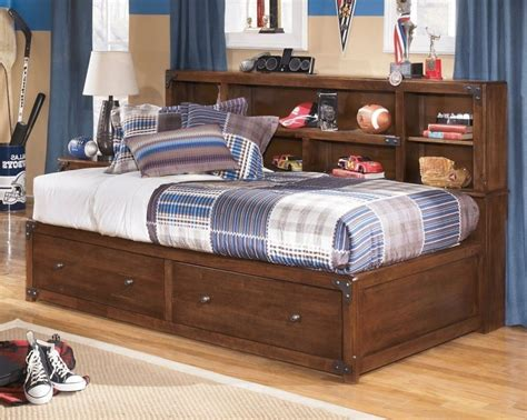 bed with bookcase headboard bed with storage and bookcase headboard american hwy