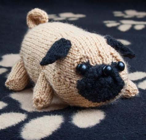 knitted pug 1000 images about animal knitting patterns on