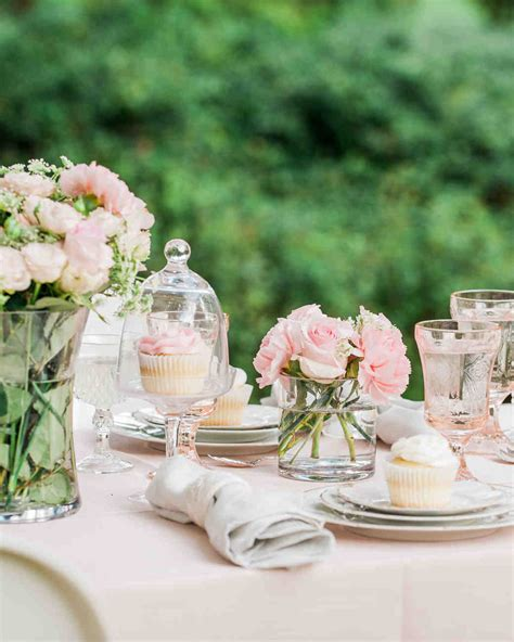 bridal shower table bridal shower ideas martha stewart weddings