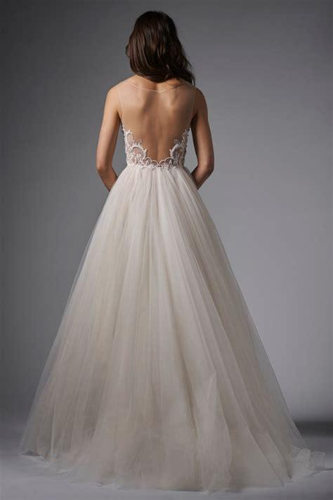 beaded back wedding dress wtoo 15761 wedding dress beaded bodice v neck