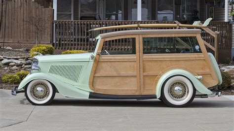 Ford Woody by 1934 Ford Woody Wagon Rod F180 Indy 2016