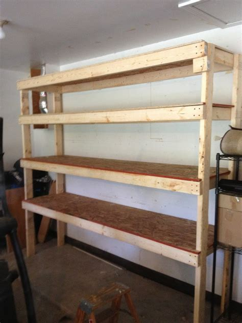 storage shelves for garage garage storage shelves plans free image mag