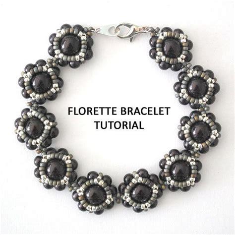bead weaving tutorials tutorial florette bracelet bead weaving tutorial