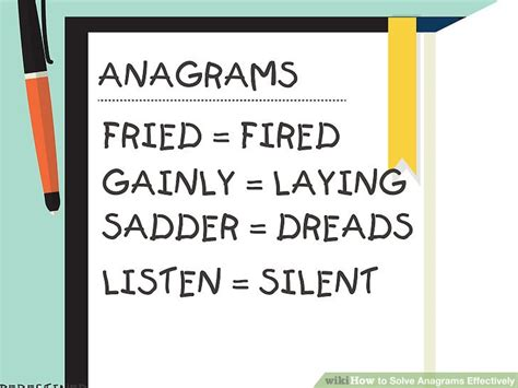 solve anagrams scrabble 3 ways to solve anagrams effectively wikihow
