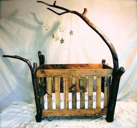 rustic log baby crib rustic log baby crib by one day decor nursery