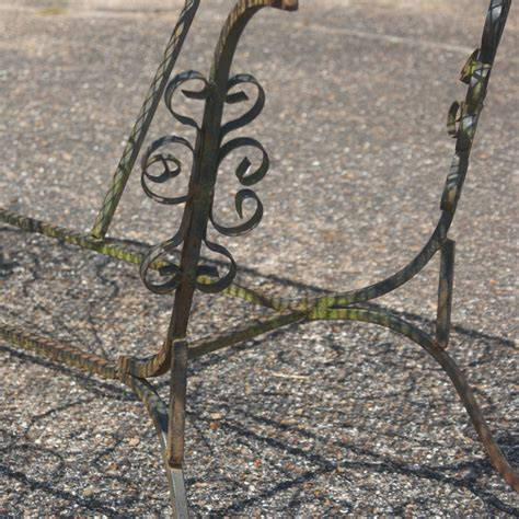 wrought iron patio dining table wrought iron patio dining table ebay