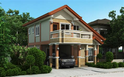 house plans with balcony two storey house plan with balcony home design