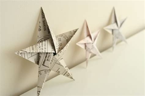 easy origami ornaments folding 5 pointed origami ornaments