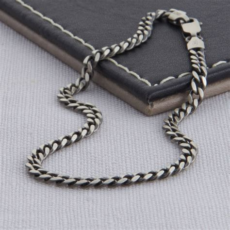 bracelet chains for jewelry sterling silver s curb chain necklace by hurleyburley