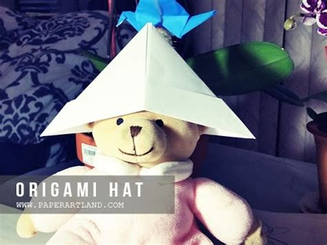 origami hats you can wear origami for how to make a paper hat that you can