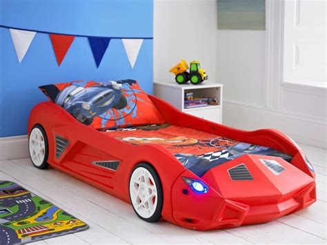bed cars racing car bed childrens toddler junior bed with