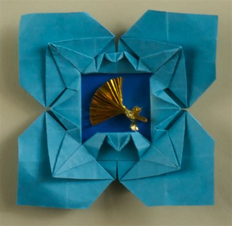 origami photo frames cranes picture frame diagram origami artis