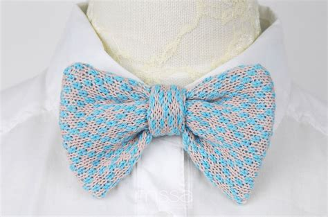 knit bow tie pattern knitted bow tie in pattern on luulla